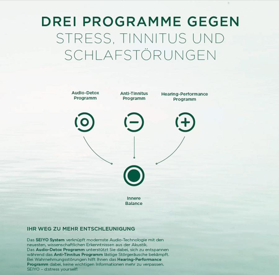 Seiyo Hörtherapie - Hörgeräte Trümper - Heiligenstadt